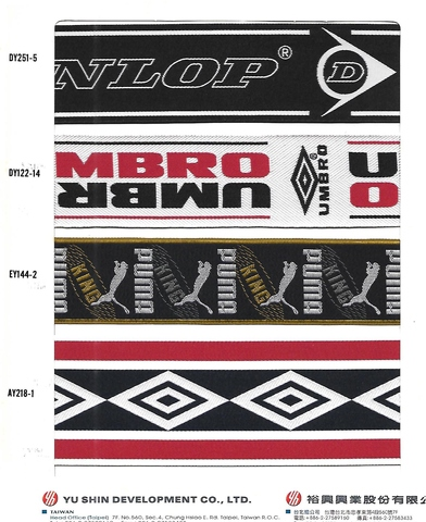 Logo Tape, Garment Accessories