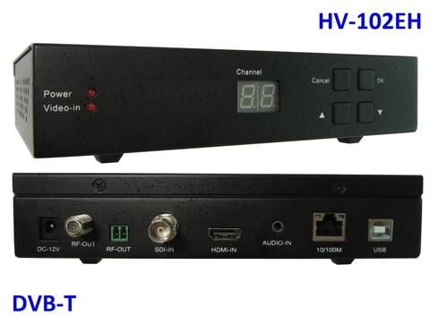 Taiwan HV-102EH HDMI/ SDI/ HD-SDI/ CVBS-in, DVB-T out, w