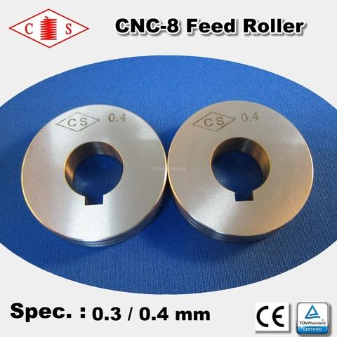 CNC-8 Feed Roller 0.3 / 0.4 mm - Back