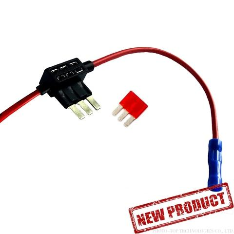 In-Line Micro 3 Blade Fuse Holder-Fuse Tap- Add a circuit