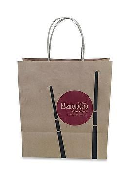 Brown kraft paper bag, twisted paper handle, fully-automatic paper bag
