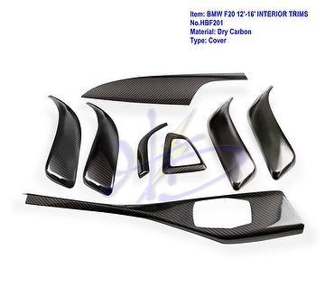 Taiwan Carbon Fiber Bmw F20 12 16 Interior Trims Cover Dry Carbon