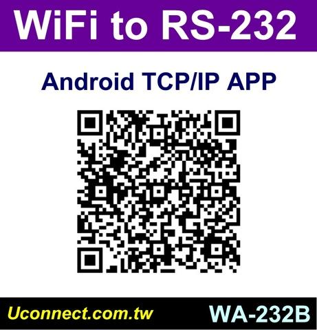Test APP for WiFi RS422 WiFi RS485 adapter