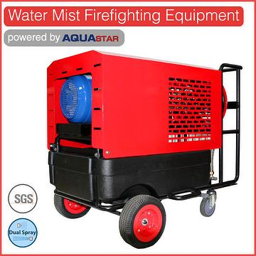Portable high pressure fire water pump