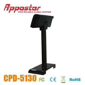 Customer Display CPD5130 Rear View