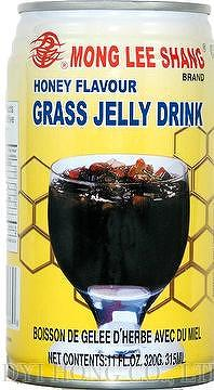 how to make grass jelly drink