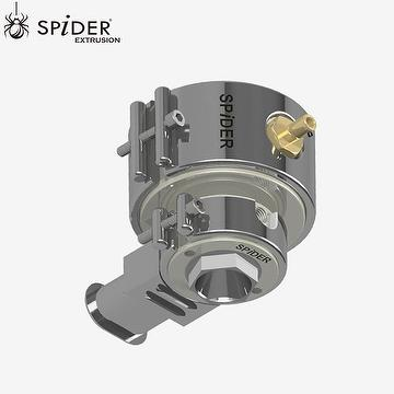 Optic fiber cable extrusion crosshead