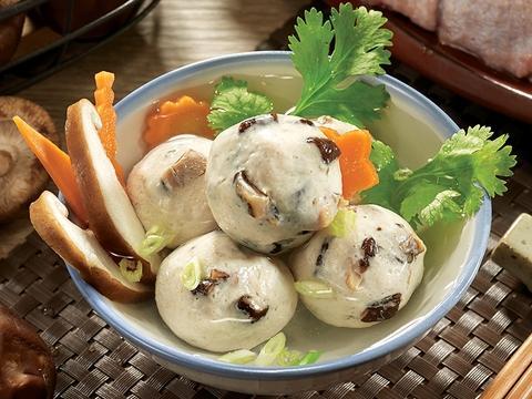 香菇雞肉摃丸