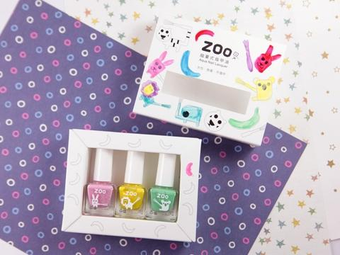 Zoo kid's nail polish Happy Candy Rabbit