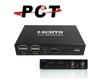 2 Port HDMI USB KVM Switch w/ Mic.