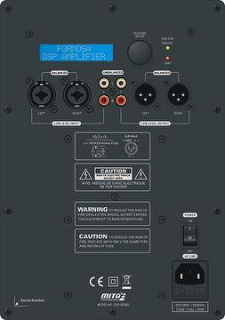 Compact Subwoofer Plate Amplifier