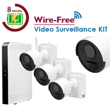 Wire-Free Surveillance IP KIT