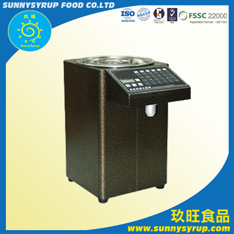 Bubble Tea Supplier Fructose Machine Taiwan Sunnysyrup Factory