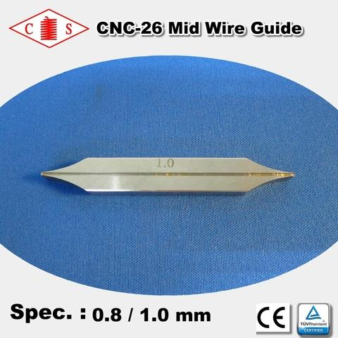 CNC-26 Mid Wire Guide 0.8 / 1.0 mm  Back
