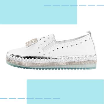 【Robinlo & Co.】Asple White_Flat Shoes,Platform shoes