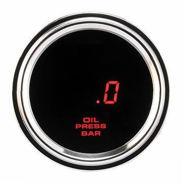 Digital Stainless Steel Oil Pressure Gauge Indicator (EUP-16-BS)