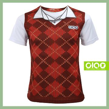 latest 2017 high quality custom printing Logo O-Neck polo t shirt
