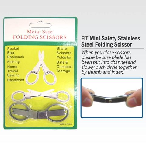 Steel Folding Scissors