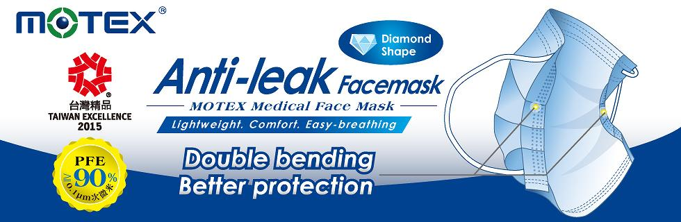 Surgical Mask - Anti-leak face mask