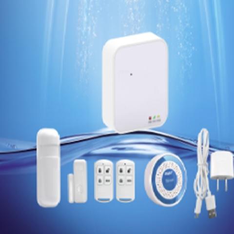 GSM/GPRS+ WiFi alarm system.