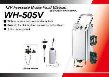 12V Pressure Brake Fluid Bleeder