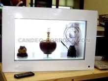 "55"" transparent LCD display system"