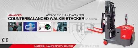 NOVELTEK Counterbalanced Walkie Stacker 1500KG
