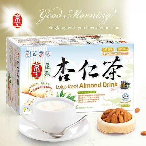 【京工】蓮藕杏仁茶-減糖 (30克x30入)