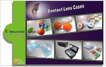 POLARIS Rubbery Bubble Contact Lens Case, POLARIS Dial-a-Date Contact Lens Case