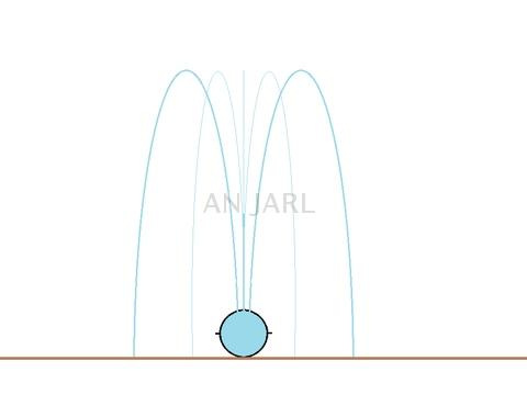 Short Wings Sprinkler Hose (Rain Tape, Rain Pipe) schematic