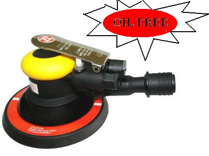"AIR ORBITAL SANDER 6"" SGV OIL FREE TYPE"