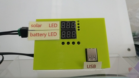 Taiwan Solar charging controller for mobile equipment