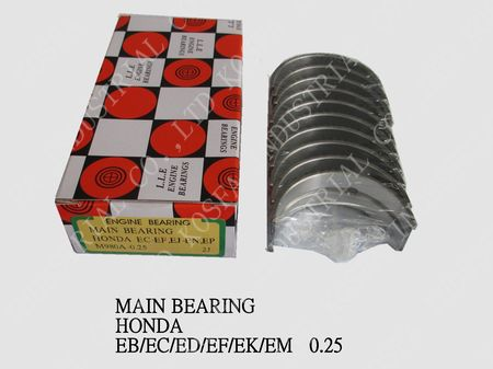 MAIN BEARING for HONDA EC