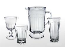 PANELED DESIGN DRINKING WARE