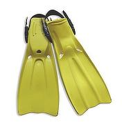 Rubber Dive Fins, Yellow