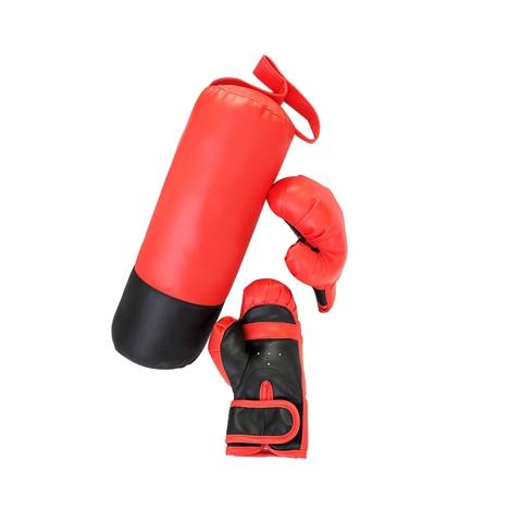 punching Bag(with 4 ounce gloves)