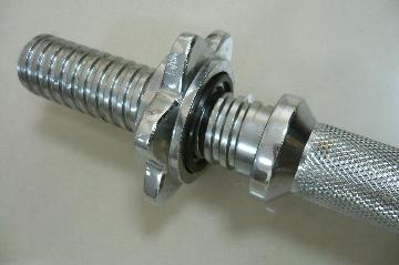 Dumbbell Bar with Star collars