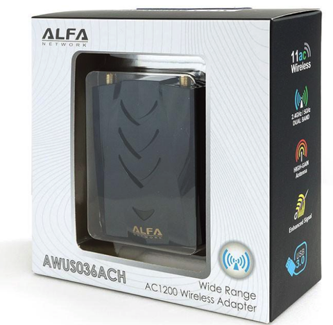 kali linux driver for alfa awus036ach