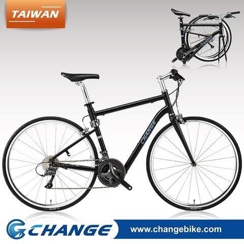 CHANGE ロード折りたたみバイク DF-702B、台湾製100パーセント、サイズ:520mm
