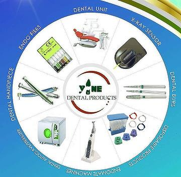 DENTAL PRODUCTS ( DENTAL EQUIPMENT/HANDPIECE/DETAIL UNIT/BURS/ENDODONTIC/TEETH CLEAN AND TREATMENT/DENTAL MATERIALS)