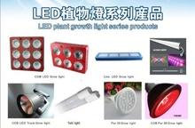 Plant growth track light