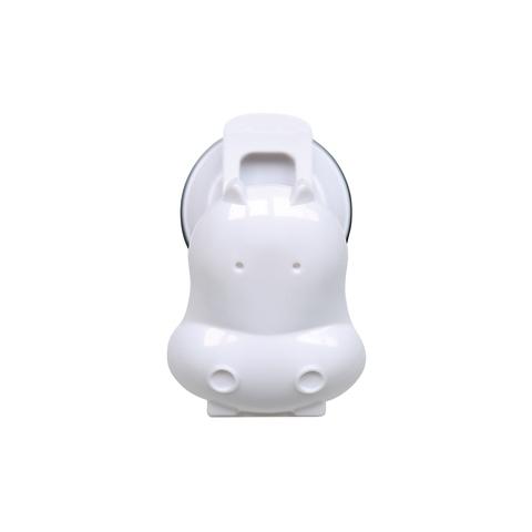 HIPPO CLIP-WHITE