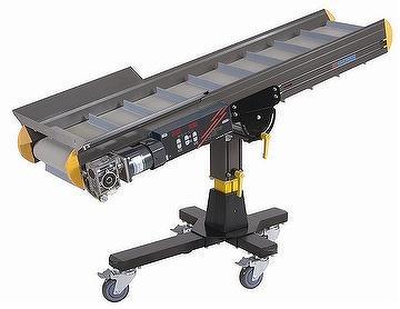 Conveyour sebagai alat bantu mesin sebagai penggerak obyek mengarah pada scan
