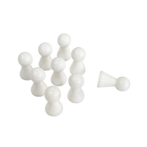 15*27mm White Wooden  Pawn