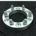 Car wheel spacer by aluminum