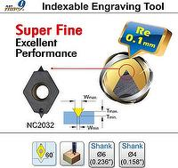 Nine9 Indexable Engraving Tool      Re 0.1mm
