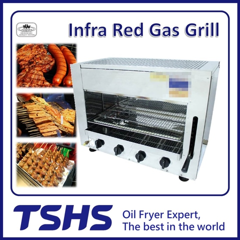 Best Quality Convenient Seafood Natural Gas Grill Supplier
