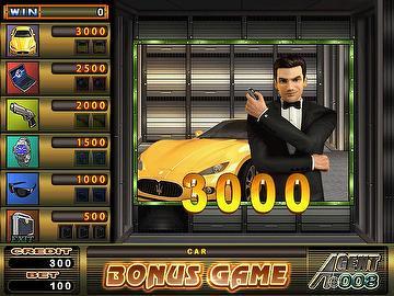 Agent 008 slot machine leon roulette paintings