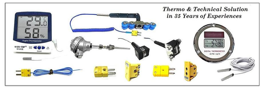 Thermo-Hygrometer & Thermocouple Probe