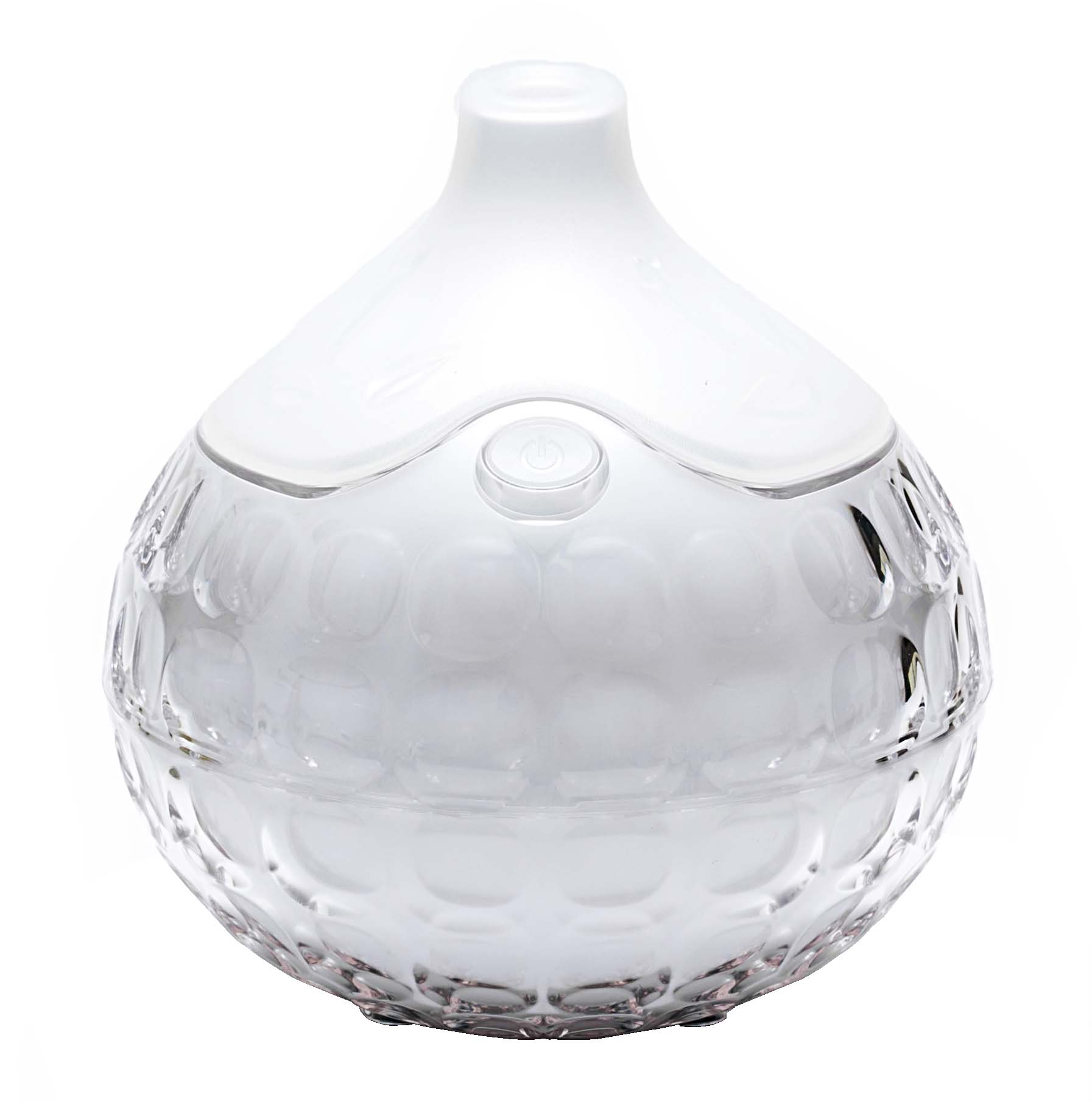 Breed Essential Oils Aroma Diffuser Crystal Design Non Radiation Non Electromagnetic Wave / White